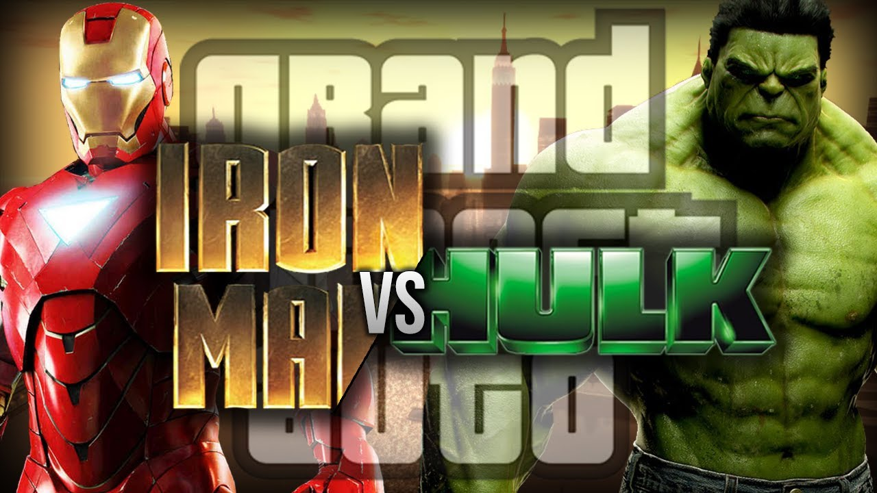 Gta 4 Iron Man Vs Hulk Funny Moments W Mods Fpvracerlt