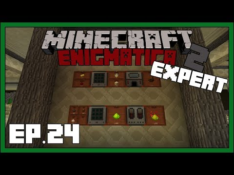 Enigmatica 2: Expert - EP24 - Compact Machines & Fluxed