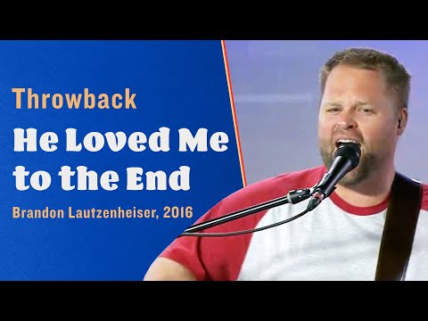 He Loved Me to the End -- The Prayer Room Live Throwback Moment
