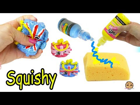 DIY Squishy UK Holiday Shopkins Season 8 Easy Craft Do It Yourself - Cookie Swirl C Video - UCelMeixAOTs2OQAAi9wU8-g