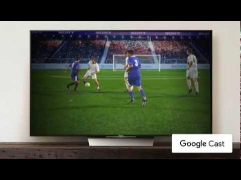 Транслируй на большой экран Sony c Android TV™ одним касанием