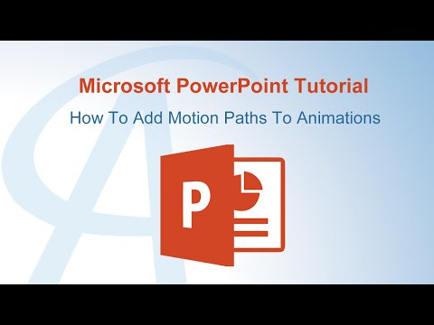 How To Add Motion Paths To Animations In PowerPoint