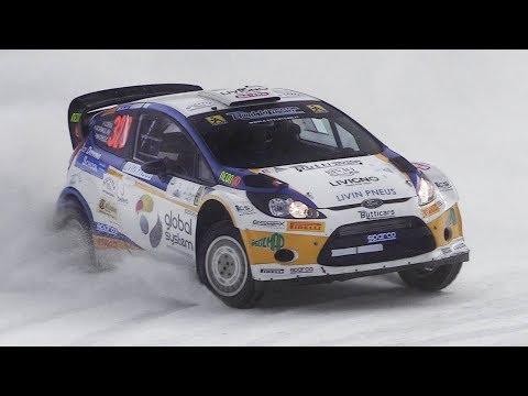 WRC Cars On Snow: Fiesta WRC, Focus RS WRC  Peugeot 206 – The Ice Challenge 2018