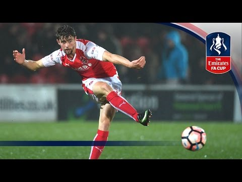 Fleetwood Town 0-1 Bristol City (Replay) Emirates FA Cup 2016/17 (R3) | Goals & Highlights