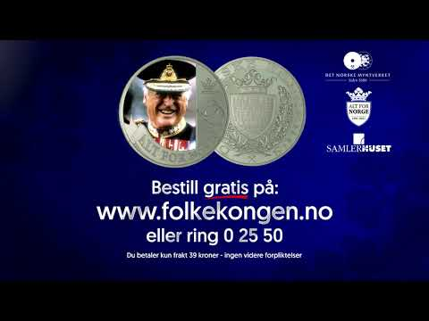 Den offisielle Folkekongen minnemedaljen