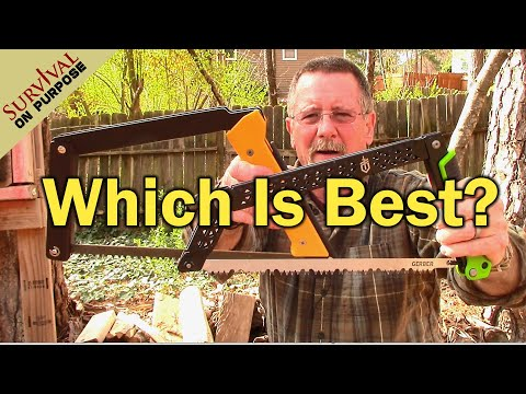 Boreal 15 Folding Bow Saw vs Gerber Freescape Camp Saw - Sharp Saturday
