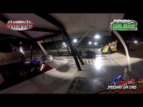 #USA1 Chris Hawkins - Cash Money Late Model - 9-20-2020 Springfield Raceway - In Car Camera - dirt track racing video image