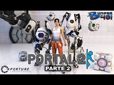 Portal 2 (2011)(Valve)(PC)   Parte 2   Longplay   Retro
