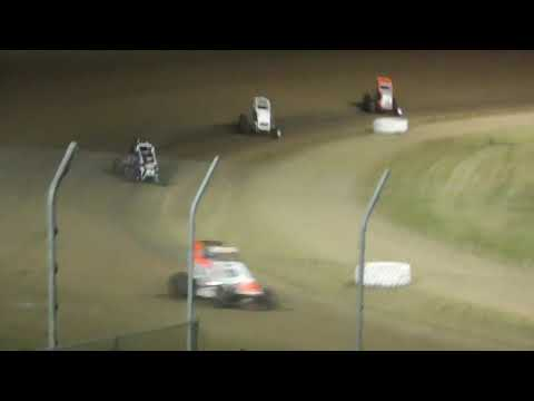 Grays Harbor Raceway NW Ford Focus Midgets Fred Brownfield Classic Night #1 June 19th, 2019 - dirt track racing video image