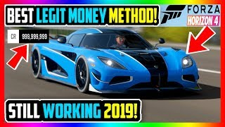 BEST FORZA HORIZON 4 LEGIT MONEY METHOD OF ALL TIME! UNLIMITED CREDITS FAST! (STILL WORKING 2019!)