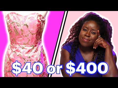 Fashion Stylists Guess the Cost of Party Dresses