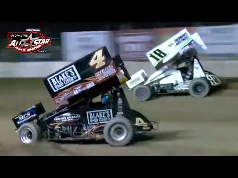FloRacing All Star Sprints Season Finale | Fremont Speedway - dirt track racing video image