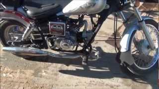 Pagsta 50cc Motorbike :) - YouTube