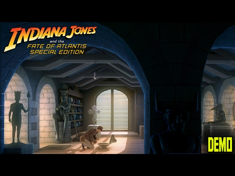 Indiana Jones and the Fate of Atlantis - Special Edition - DEMO - Fanmade