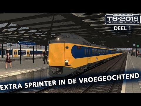Train Simulator 2019: Zo ontstaat vertraging 2.0 (Extra Sprinter in de vroege ochtend [Deel 1])