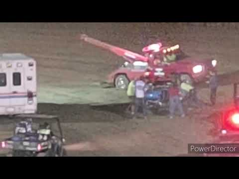 Great Lakes Lightning Sprints A-Main - I-96 Speedway - 9-3-2021 - dirt track racing video image
