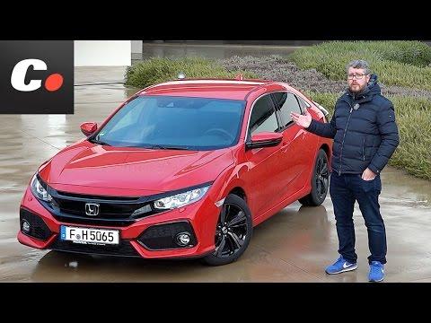 Honda Civic 2017 | Primera prueba / Test / Review en español | Contacto | coches.net