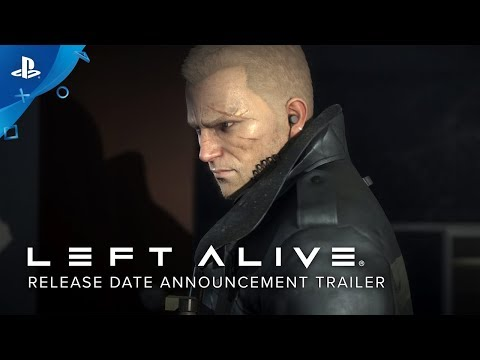 Left Alive - Release Date Announcement Trailer | PS4
