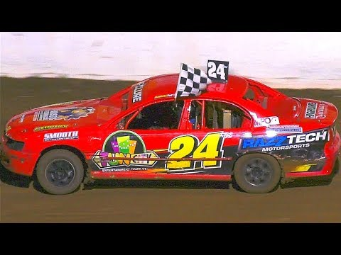 Street Stocks Final Simpson Speedway 16-2-2019 - dirt track racing video image