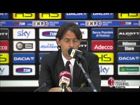 """Inzaghi: """"Sbagliato approccio e atteggiamento…"""