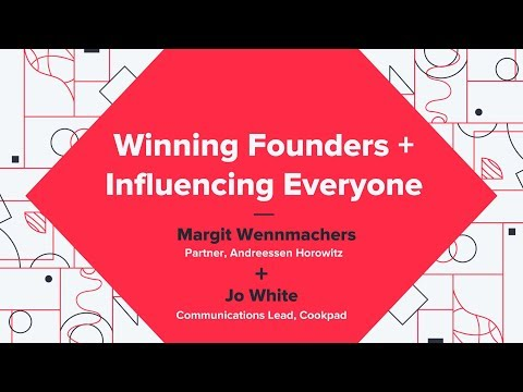 Winning Founders + Influencing Everyone - Margit Wennmachers (Andreessen Horowitz)