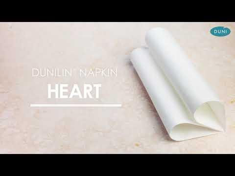 EASY NAPKIN FOLDING – HEART