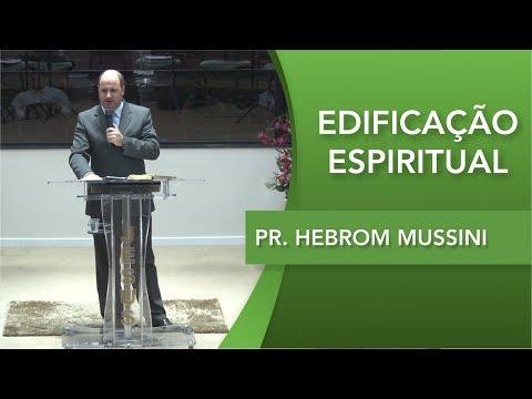 Pr. Hebrom Mussini   Salmos 37.1   01 10 2019