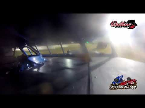 #16 Billy Arnold - USRA B Modified - 10-16-2021 Outlaw Motor Speedway - In Car Camera - dirt track racing video image