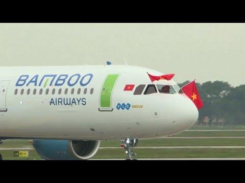 """شركة الخطوط الجوية الفيتنامية الجديدة """"بامبو ايروايز"""" تسير أولى رحلاتها"""