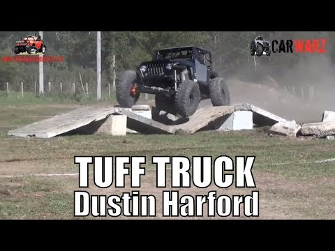 Dustin Harford 2000 Jeep Second Round Modified Class Minto Tuff Truck Challenge 2018