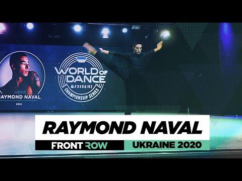 Raymond Naval | FrontRow | World of Dance Ukraine 2020 | #WODUA20