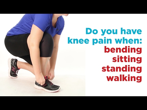 How to Help Knee Pain when Bending, Sitting, Standing or Walking if you're Overweight