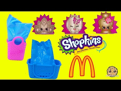 Ultra Rare Mcdonalds Fast Food Happy Meals Exclusive Shopkins Seasons 1, 2, 3, 4 ? Blind Bags Video - UCelMeixAOTs2OQAAi9wU8-g