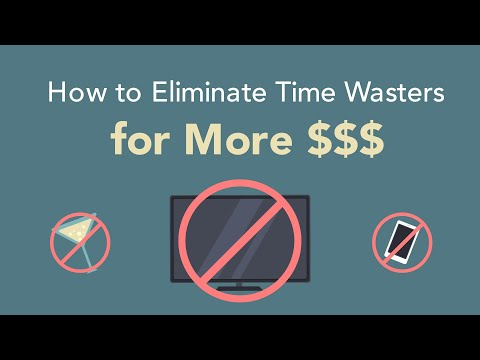 Earn More Money and More Time. Eliminate the Time Wasters!  Brian Tracy