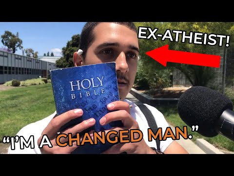 From Atheist to Bible-Reader!