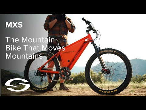 Introducing SONDORS MXS - The Mountain Bike That Moves Mountains