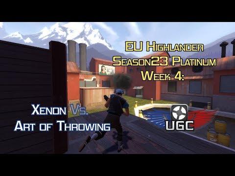 UGC EU HL S23 Plat W4: Xenon vs. AoT