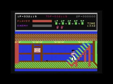 Real C64, Real Colors - KungFu Master