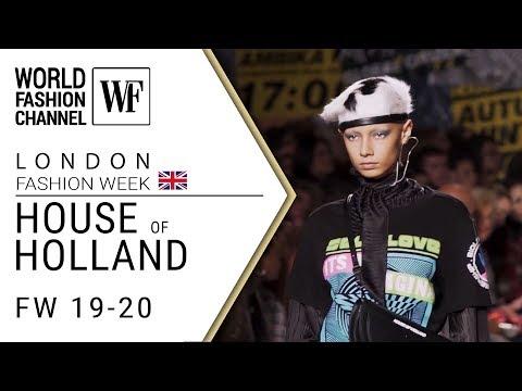House of Holland Fall-winter 19-20 London fashion week