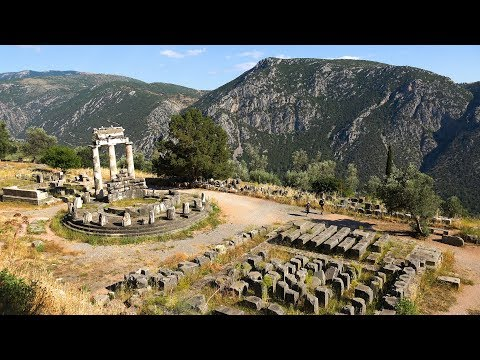Ancient Sites in Greece (Mainland) in 4K Ultra HD