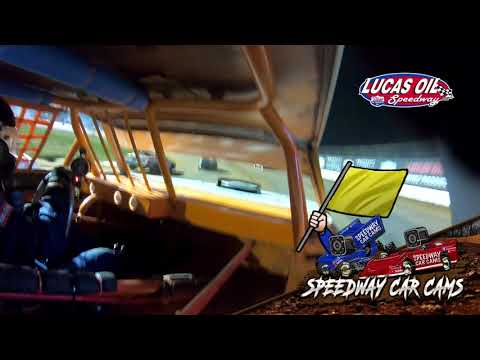 #21D Dalton Phillips - USRA Stock Car - 10-7-2021 Lucas Oil Speedway - In Car Camera - dirt track racing video image