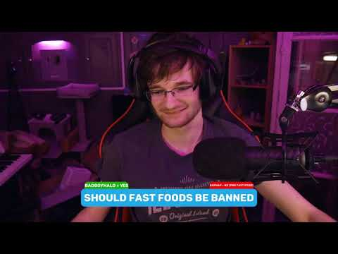 """Should fast foods be banned"" - Episode 48 - BadBoyHalo & Sapnap"