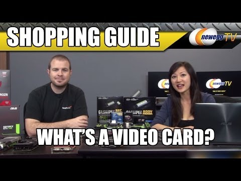 What's a Video Card? Newegg TV's Tutorial and Shopping Guide - UCJ1rSlahM7TYWGxEscL0g7Q