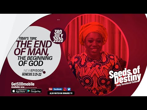 Dr Becky Paul-Enenche - SEEDS OF DESTINY - FRIDAY, 3 JULY, 2020