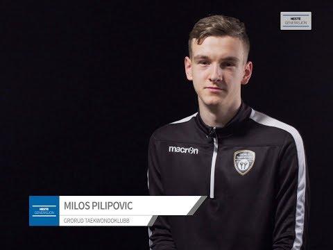 Milos Pilipovic - Taekwondo