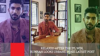 Relaxed After The IPL Win, Bumrah Looks Urbane In His Latest Post