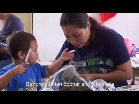 Ny förskola ger hopp i Joyas Grande