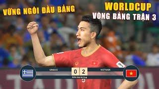 PES19   GREECE vs VIETNAM   FIFA WORLDCUP   VÒNG BẢNG TRẬN 3   Giấc mơ Bóng Đá VIỆT NAM