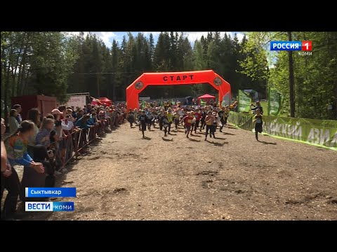 В Сыктывкаре прошли соревнования по спортивному ориентированию