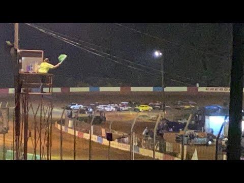 10/2/2021 Main Pure Stock Cherokee Speedway - dirt track racing video image